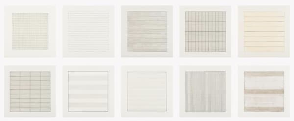 Agnes Martin, Untitled (from Paintings and Drawings: 1974-1990), 1991/1992