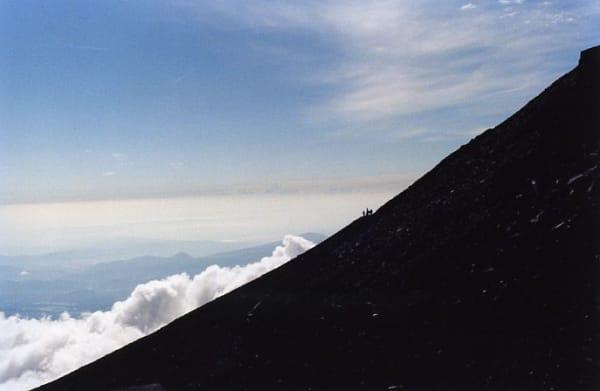 Towards the Mountain