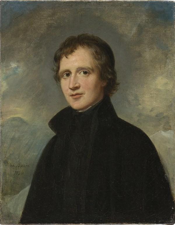 Charles Louis Bazin, Portrait d'homme