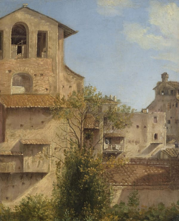 Follower of Thomas Jones, An Italianate Landscape