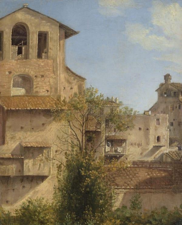 Follower of Thomas Jones, An Italianate Landscape