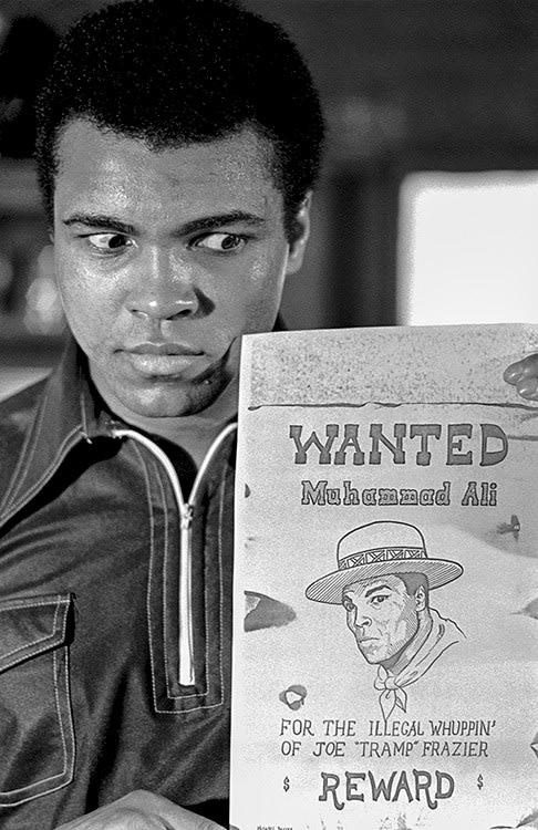Michael Brennan, Muhammad Ali 'Wanted' Poster, 1974