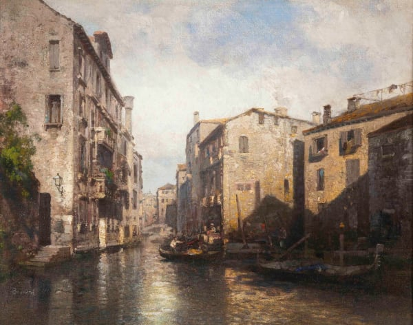 Antoine Bouvard, Venetian canal scene