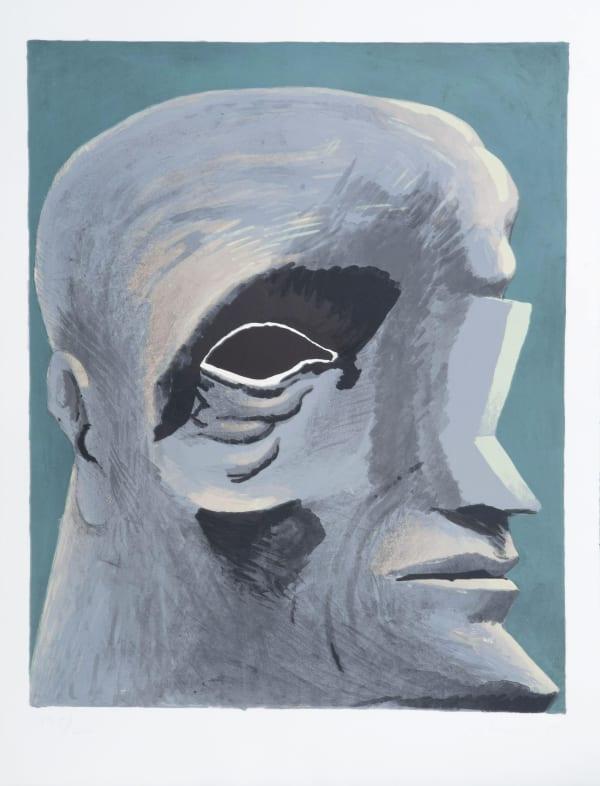 Horst Antes, Omaggio a Michelangelo, 1975