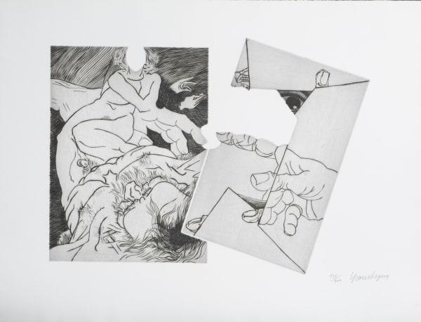 Jean Ipoustéguy, Omaggio a Michelangelo, 1975