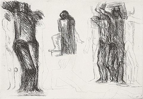 Fritz Wotruba, Omaggio a Michelangelo, 1975