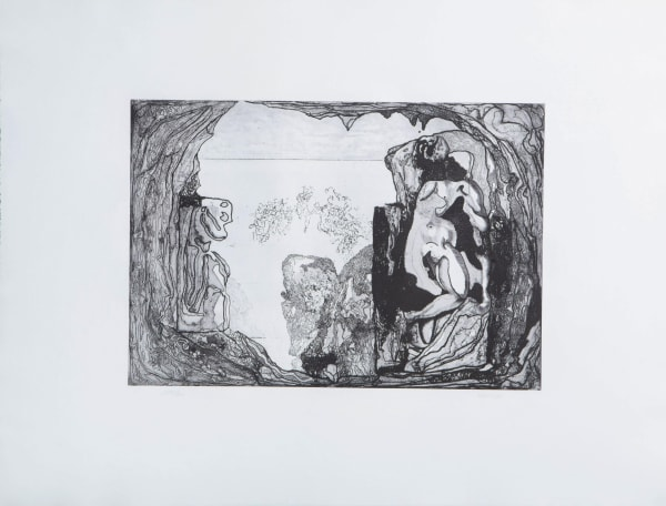 Jorge Castillo, Omaggio a Michelangelo, 1975