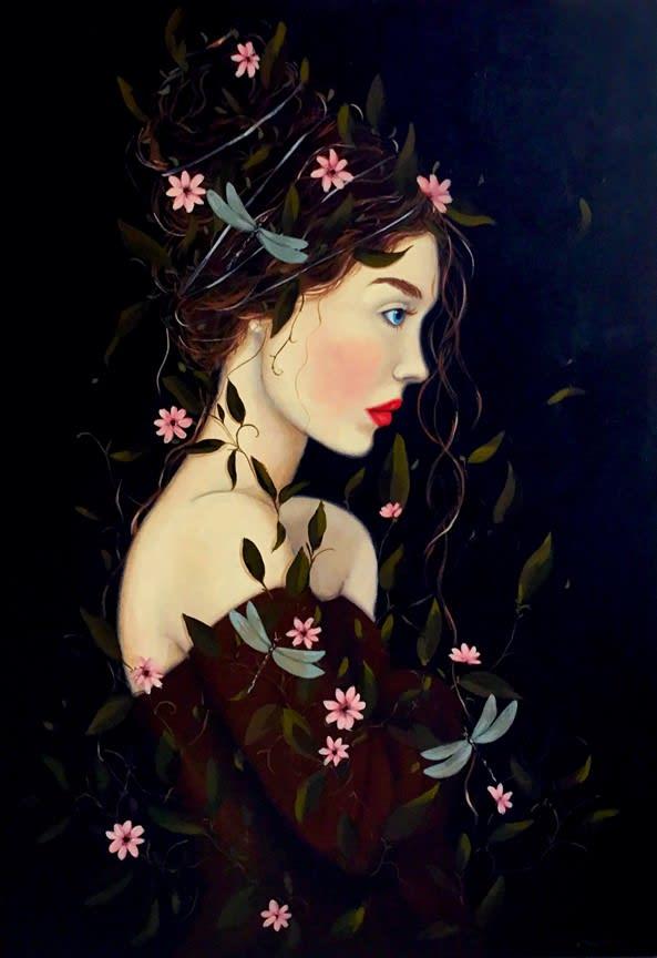 Mary Noga, Beautiful Demoiselle, 2021
