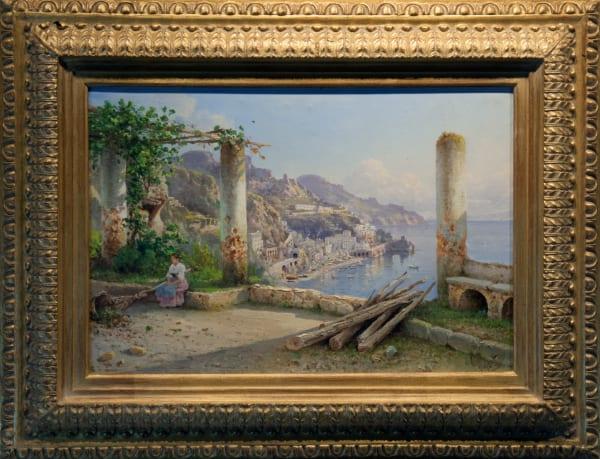 Guglielmo Giusti, View of the Coast of Amalfi