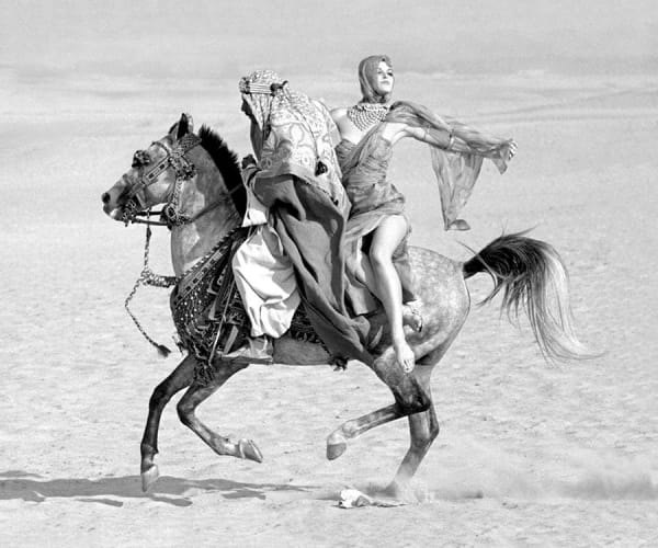 Norman Parkinson, Queen of the Desert, Queen Magazine, 1963