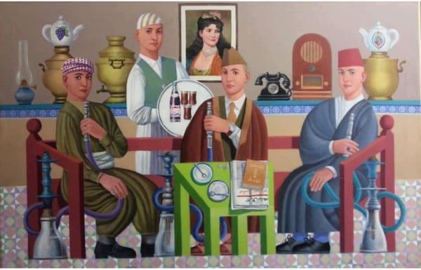 Faisel Laibi - The Coffee Shop, 2015