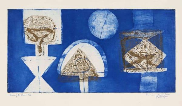 Munira Al Kazi - Vision of the East, 1962