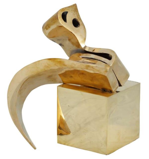 Parviz Tanavoli - Heech and Cube, 2007