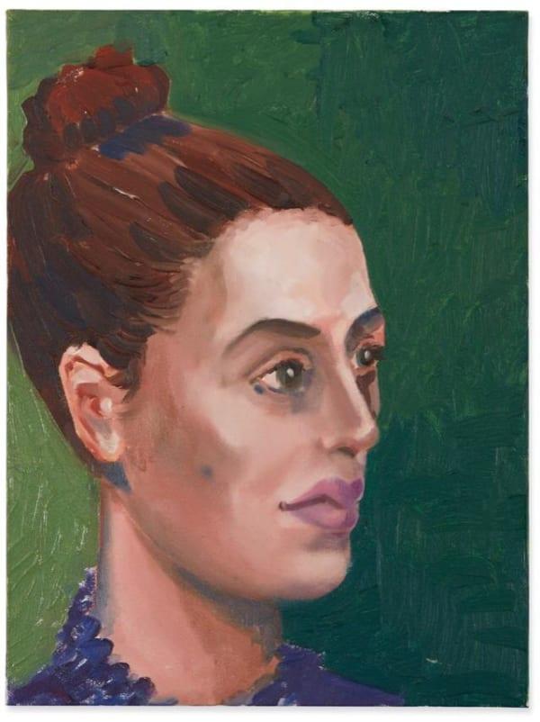 George Condo, Portrait of Erin, 2005