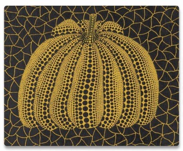 Yayoi Kusama, Pumpkin (Yellow) , 1997