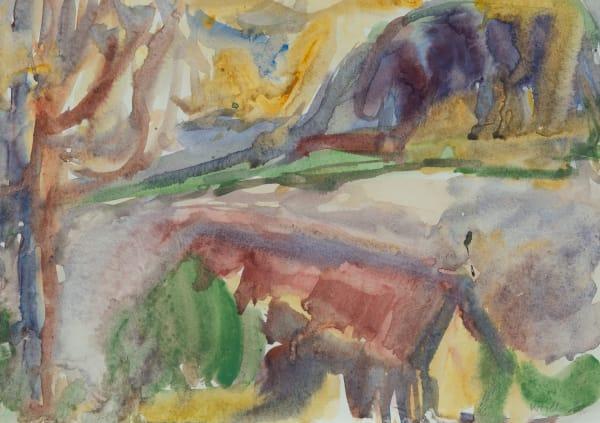 Mountford Tosswill Woollaston, Moana (Lake Brunner), 1967