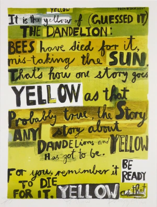 Dick FRIZZELL, Yellow, 2011