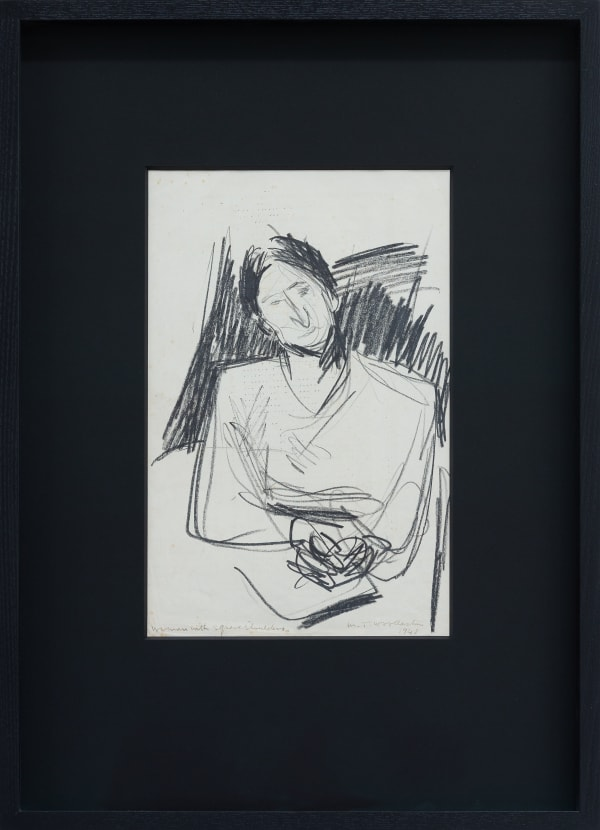 Mountford Tosswill Woollaston, Woman with Square Shoulders, 1948