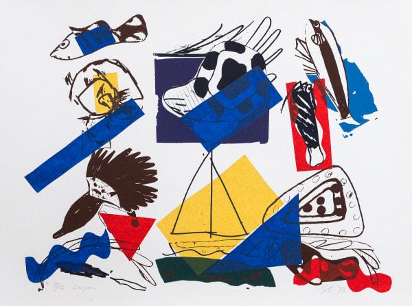 Gordon Crook, Lagoon, 1993
