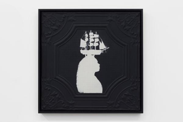 Jasmine Togo-Brisby, Panel no. 855 (with ship headdress), 2021
