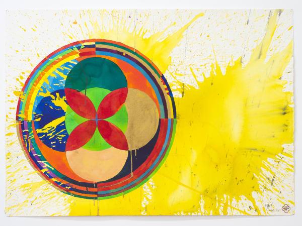 Max GIMBLETT, Yellow Heaven, 2012