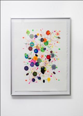 Judy Darragh, Mechanical Drawing 1 (Framed), 2014