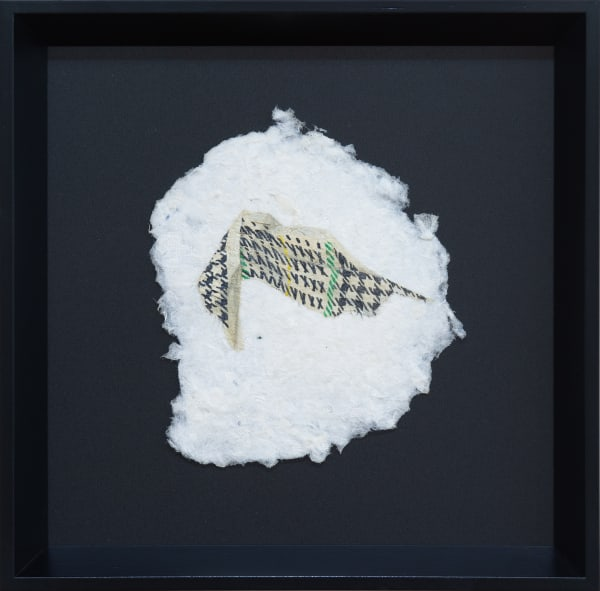 Marita Hewitt, Remnants (Houndstooth), 2020