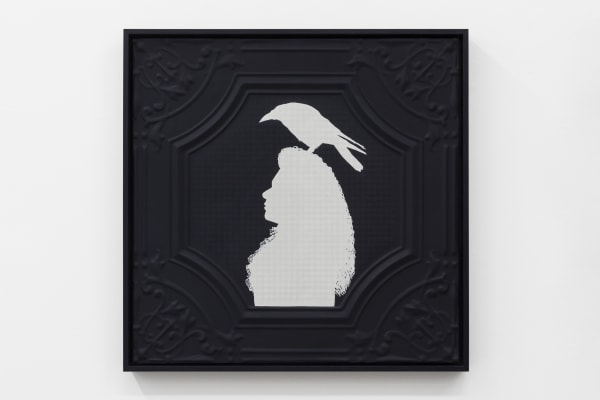 Jasmine Togo-Brisby, Panel no. 855 (with crow headdress), 2021