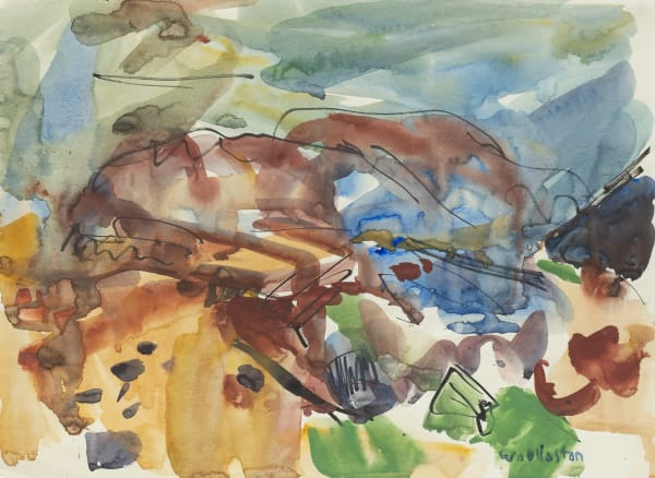 Mountford Tosswill Woollaston, Blackball III, 1961