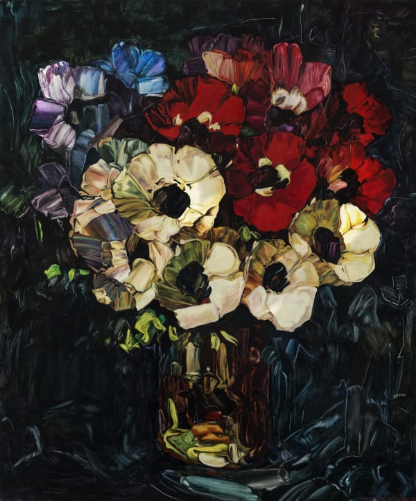 Dick FRIZZELL, Flower Painting, 2016