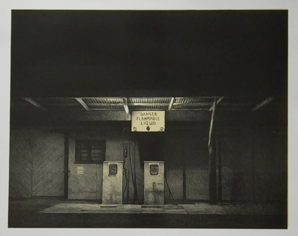 Grahame Sydney, Night Station, 37/50, 2007