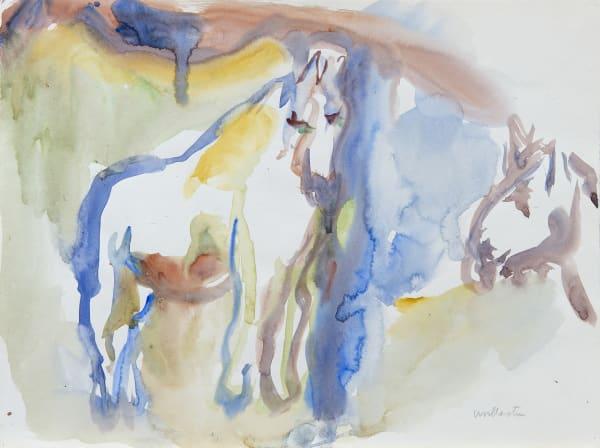 Mountford Tosswill Woollaston, Horse on a Hill, Huinga, 1973