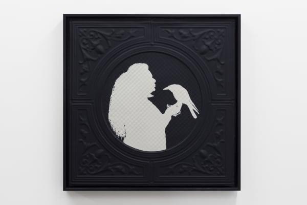 Jasmine Togo-Brisby, Panel no. 856 (holding crow), 2021