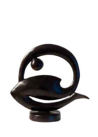 Paul DIBBLE, Soft Geometric - Smaller Curled Figure Study 2, 2012