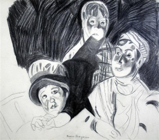 Frances Mary Hodgkins, At the Cinema, 1919