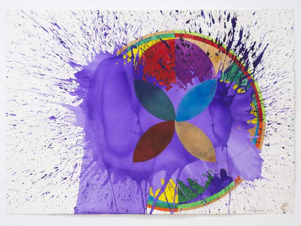 Max GIMBLETT, Turning Life (Wheel), 2014/15