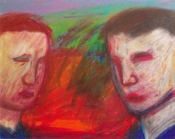 Jeffrey Harris, Double Portrait ll, 1998
