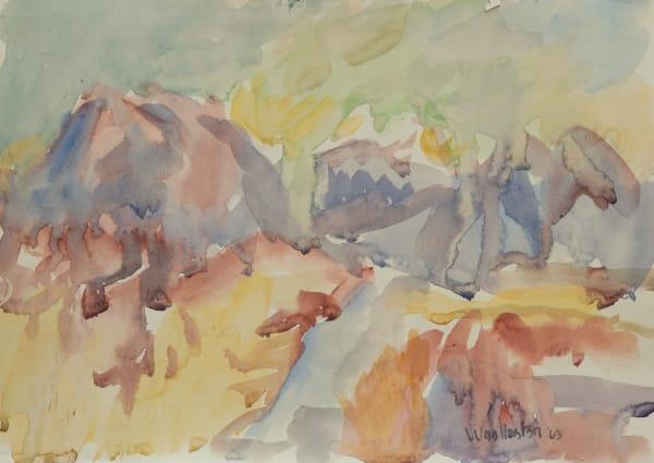 Mountford Tosswill Woollaston, Taratama, Hohonu and Turiwhate (The Road To Kumara), 1963