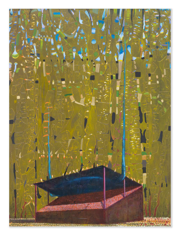 Derek Cowie, Red Main Stand and European Trees, 2020-21
