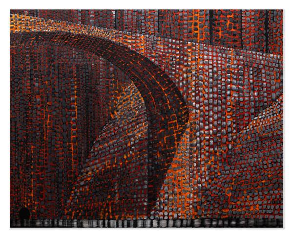 Derek Cowie, Bridge #1, 2020-21
