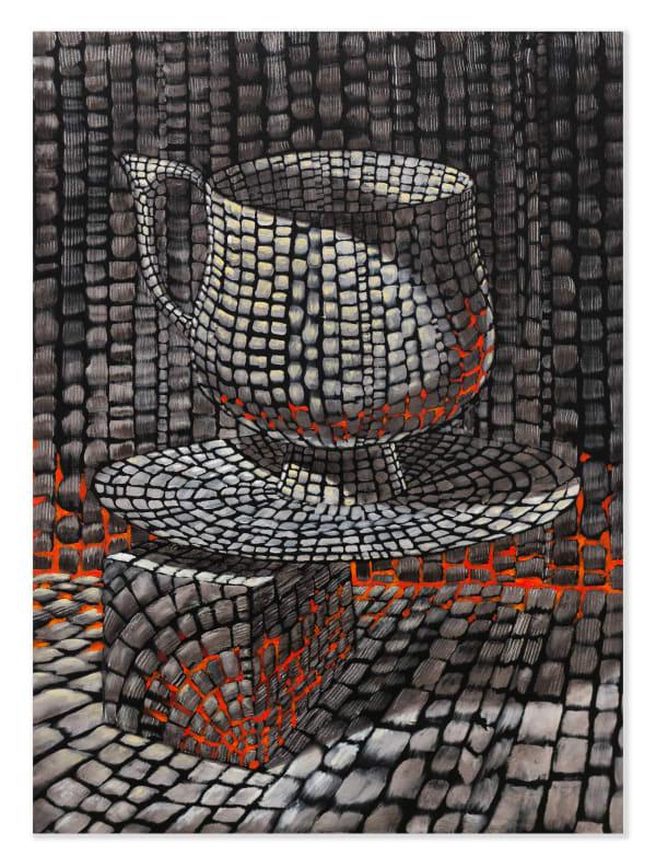 Derek Cowie, Careless Cup and Complicit Saucer, 2020