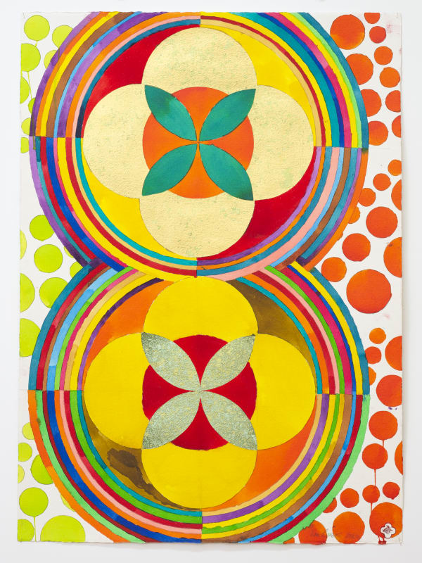 Max GIMBLETT, Vision of Double Ascension, 2012/14