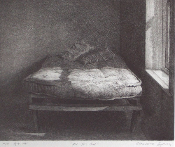 Grahame Sydney, Joe 90's Bed, A/P, 1981