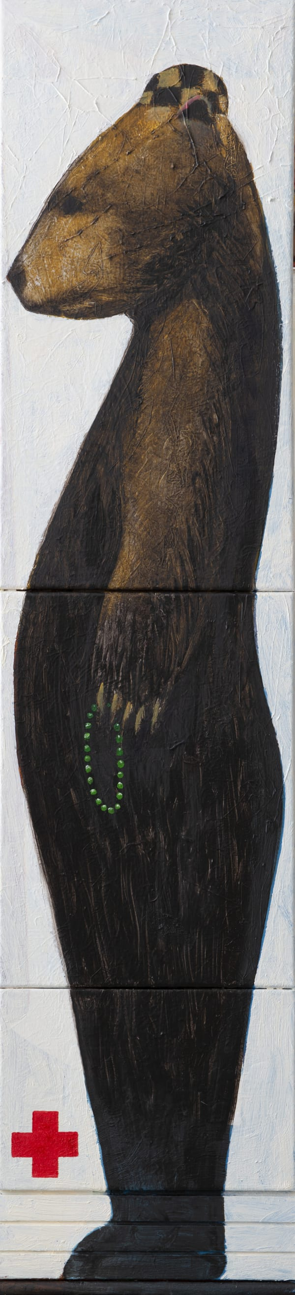 Derek Cowie, Exponential Bear (Now), 2020