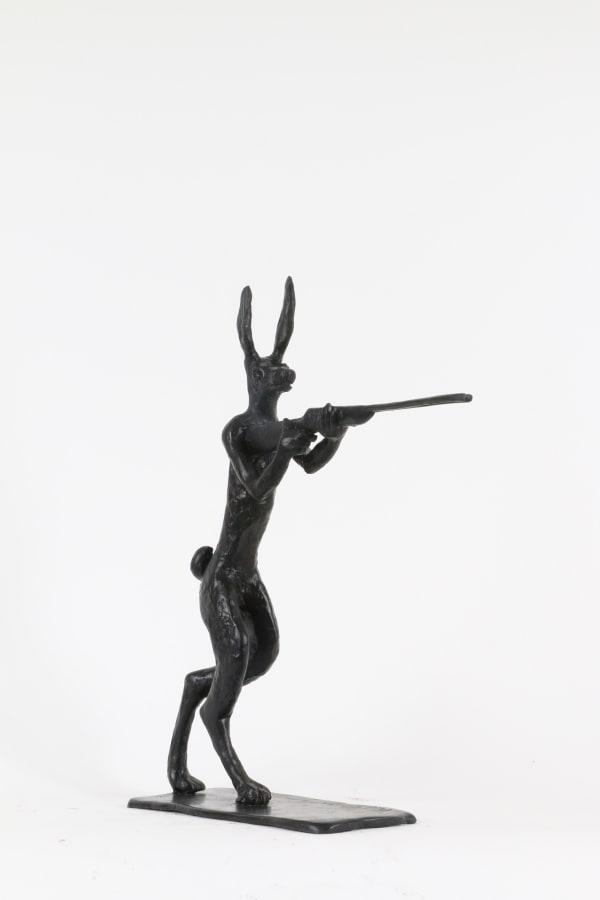 Paul DIBBLE, Rabbit Fights Back [Larger Model], 2016