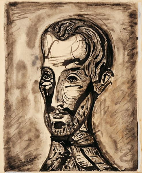 Cecil Collins, Self-Portrait, 1949