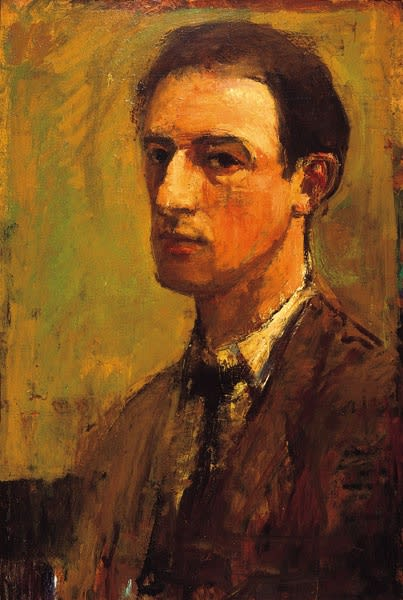 David Graham, Self-Portrait, 1950