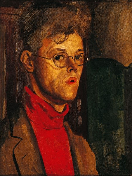 Carel Weight, Self-Portrait, c.1930