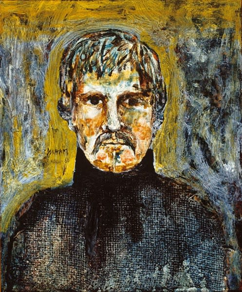 Terry Durham, Self-Portrait, 1966
