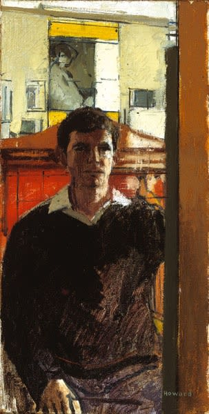 Ken Howard, Self-Portrait at Cricklewood, 1961